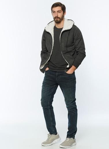 Kapüşonlu Polar Sweatshirt-Lee Cooper